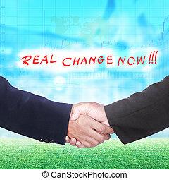 Businessmen Shaking Hands - businessmen hands shaking over...