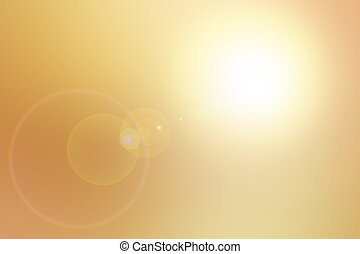 Blurred Abstract Background - Golden heaven light Hope...