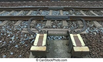 Electrical devices on railway lines