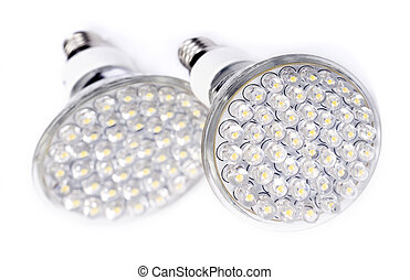 Newest LED light bulb technology is 90% more efficient than...
