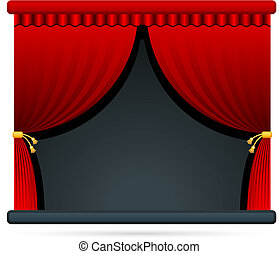 Film theater stage