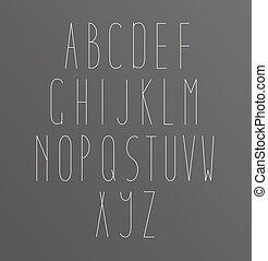 Alphabet Font letters - Alphabet Font Golden letters Icons...
