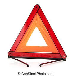 tráfego, triangulo