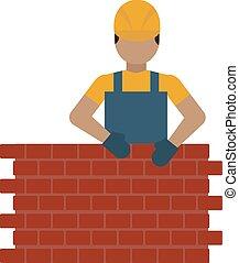 Construction worker illustration