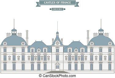 Cheverny castle, France - Cheverny, France The medieval...