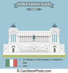 Altare della Patria, Rome - Monumento Nazionale a Vittorio...