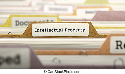 Intellectual Property on Business Folder in Catalog -...
