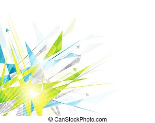 Abstract background with irregular polygon pattern and...