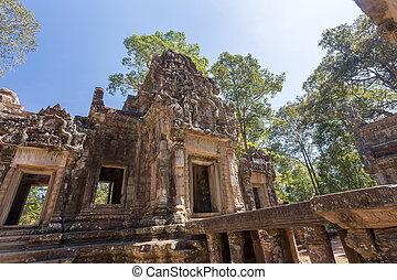 Chau Say Tevoda in Angkor Thom, Siem Reap, Cambodia.