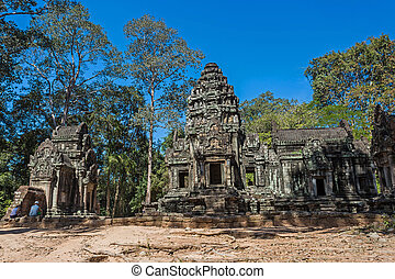 Thommanon temple in Angkor Thom, Siem Reap, Cambodia.
