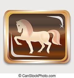 wooden horse - Year wooden horse on the eastern horoscope...