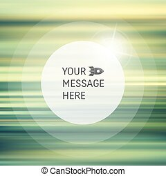 Vector Blurry Soft Background Abstract Background with Place...