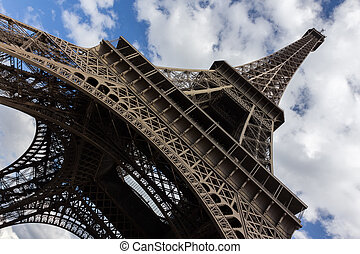 Eiffel tower, paris View from below France