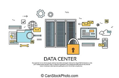 Data Center Hosting Server Computer Device Information