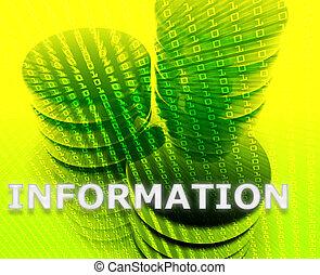 Information data storage - Information Data storage...