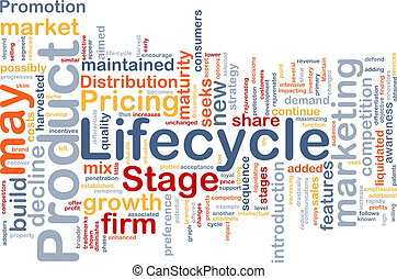 Product lifecycle background concept - Background concept...