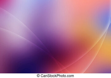 Abstract Multicolored Background With Waves