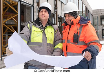 Civil Engineer At Construction Site - Civil Engineer and...