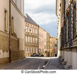 Architecture of old town Olomouc, Czech Republic - SONY DSC
