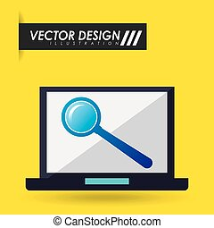 computer hardware design, vector illustration eps10 graphic