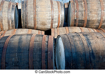 Whisky barrels - Scotch whisky barrels
