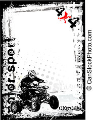 dirty motor sport 1 - sketching of the motoro sport...