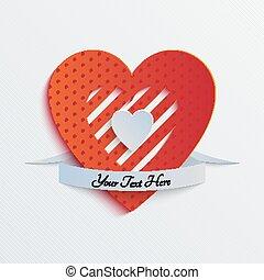 Sliced Paper Heart