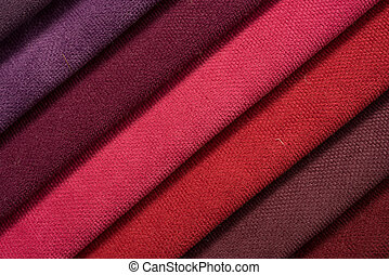 Colorful cotton textile
