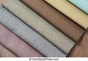Colorful cotton textile