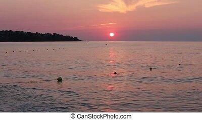 Sea Beach Sunrise View Bulgaria - Beautiful sea beach...
