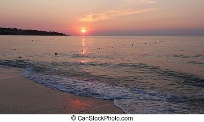 Sea Beach Sunrise View Bulgaria - Beautiful sea beach...