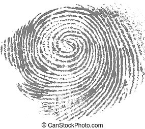 Thumbprint - Close of thumb print for background