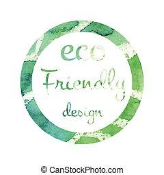 Eco Friendly Icon