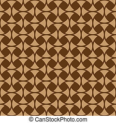 Seamless geometric ornament - Seamless pattern vector...