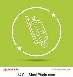 oxygen cylinder doodle