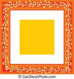 vector frame illustration