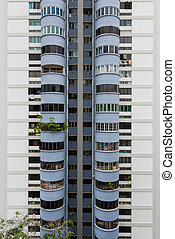 Public apartment units - Singapore, 31 Dec 2015: View of...