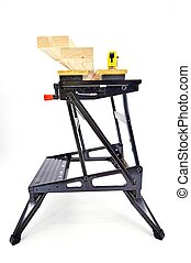 Work Bench Sawhorse - An industrial work bench