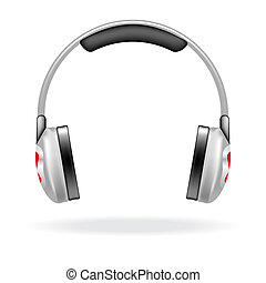 Vector headphones - Vector icon of a headphones for web...