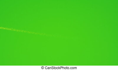 Night-vision loopable plane flying with tail - Green...
