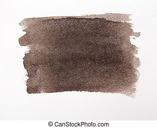 brown spot water color - Abstract watercolor background,...