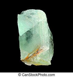 crudo, fluorita, verde