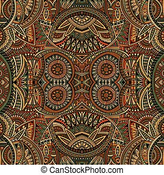 Abstract tribal ethnic background seamless pattern