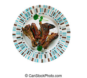apple-glazed ribs - Slow-cooker apple-glazed ribs