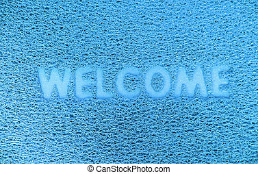 Welcome  capet texture background.