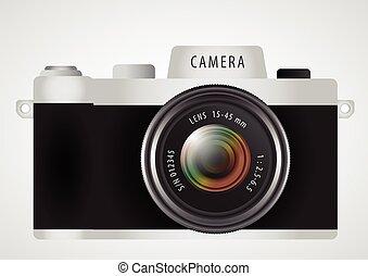 mirrorless interchangeable lens digital photo camera