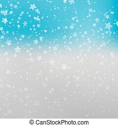 Falling Snow Background. Abstract Snowflake Pattern. -...
