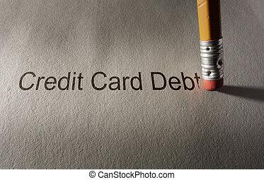 Credit card debt fix