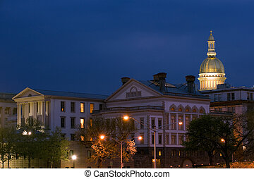 NJ State capitol - State capitol complex in Trenton, New...