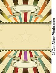 Background retro party - A retro background with multicolor...